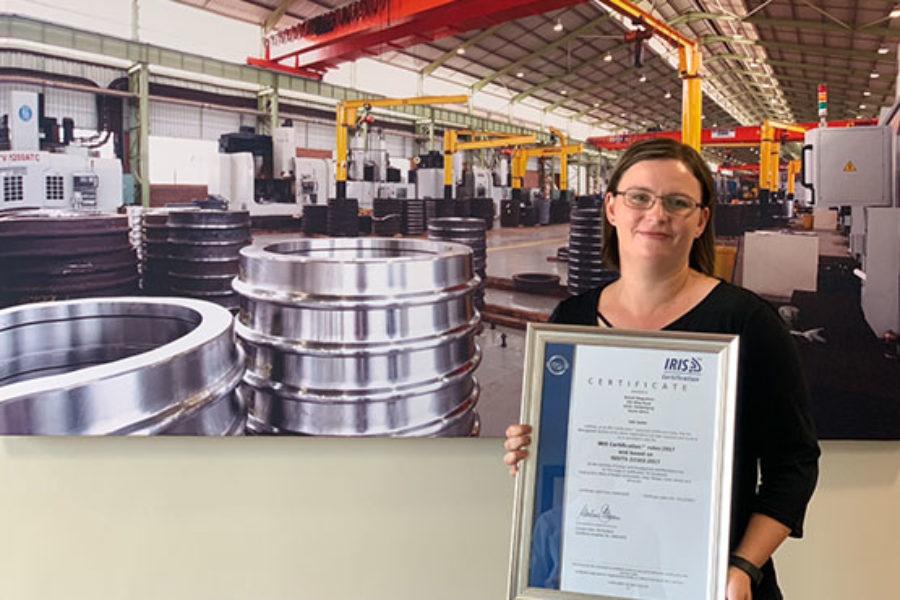 News flash: Naledi Ringrollers awarded IRIS certification