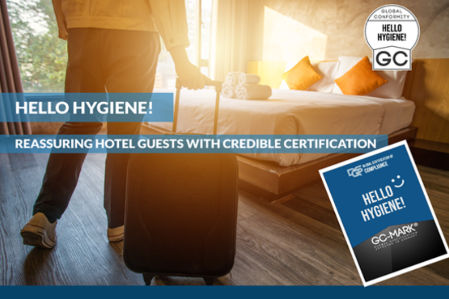 Certified trust with Hello Hygiene For the hospitality Industry